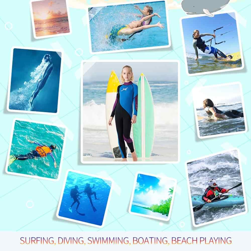 Kids Scuba Een stuk Duikpak Neopreen Snorkelen Wetsuit Surfen Badmode #5E13