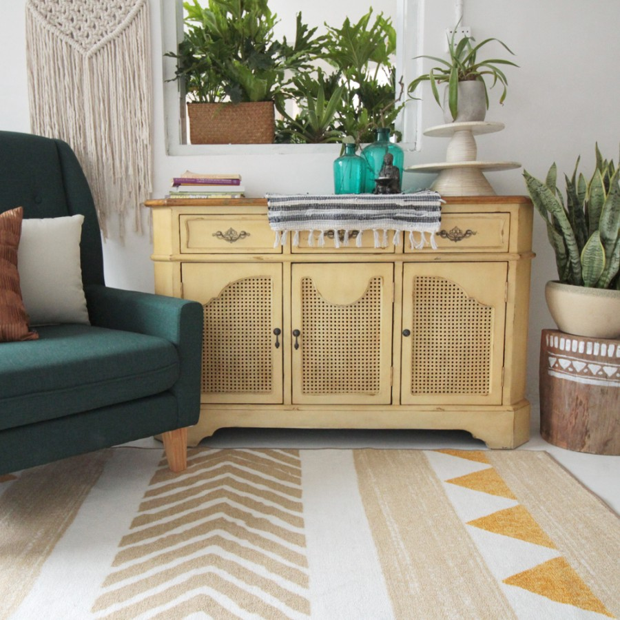 100% wool Kilim Carpet geometric Bohemia Indian Rug plaid black ...