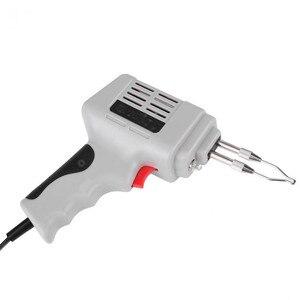 Image 4 - Распродажа, Электрический паяльник, пистолет, тепловая пушка, ручной сварочный инструмент с припоем, набор инструментов для сварки и ремонта с припоем, ЕС 220 в 100 Вт