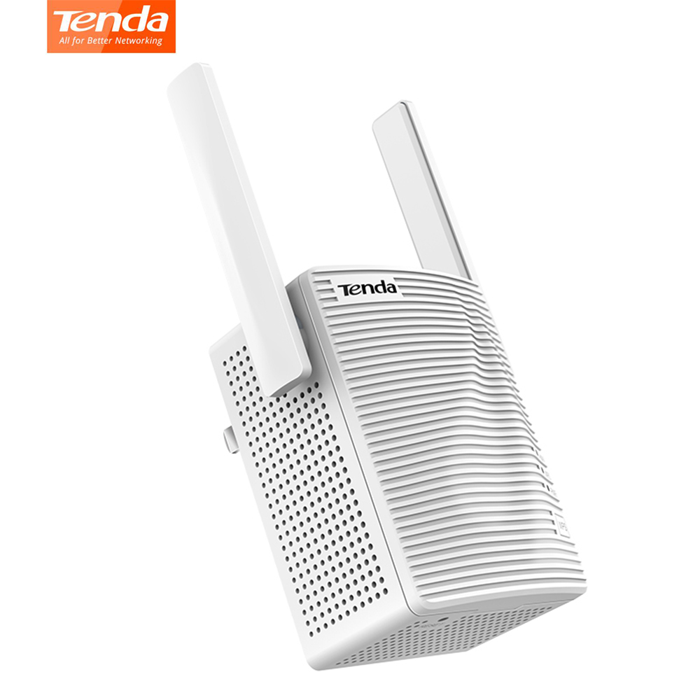 Tenda A18 AC1200 WiFi Range Extender Wi-Fi Repeater Dual Band 2.4GHz 300Mbps+5GHz 867Mbps Hide SSID WPS Omni-directional Antenna