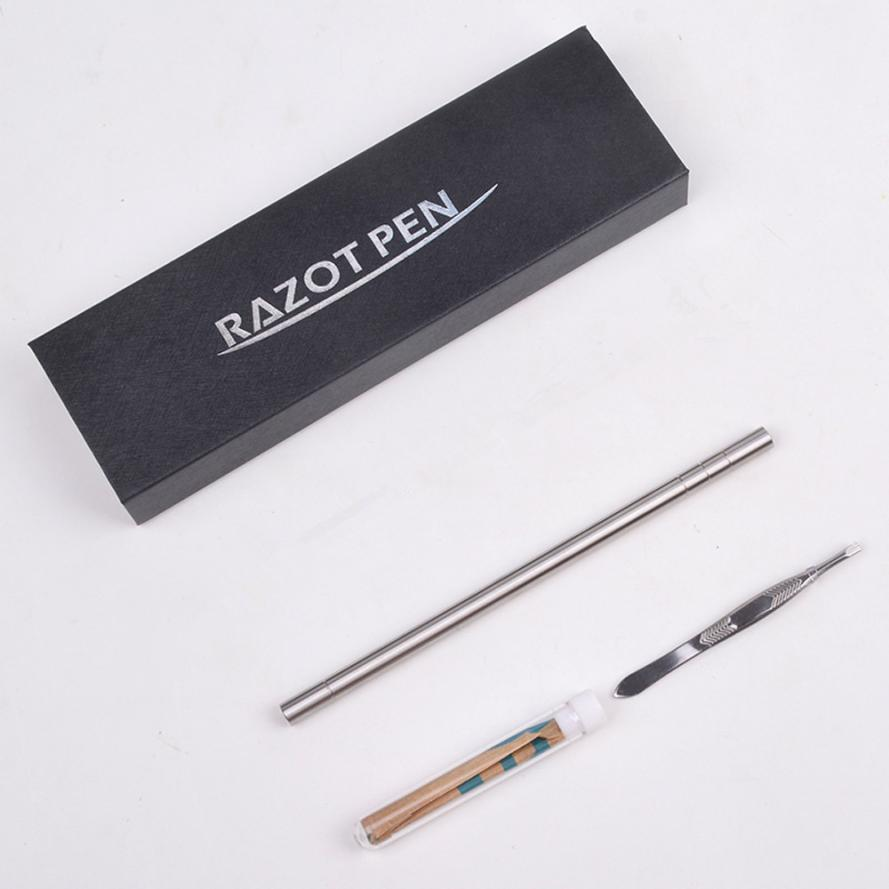 Multifunctional Professional Salon Magic Engraved Pen Stainless Steel Pen Shavings Eyebrows 2JY21