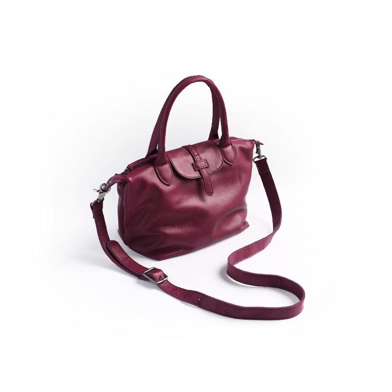 Vendange fashion women totes vintage casual handmade genuine leather shopping bag messenger bag 2449S vintage casual handmade 100