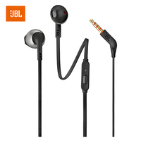 JBL T205 N Ear Music Go 3 5mm Wired Stereo Headset Line Control With Microphone
