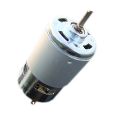 D Shape Shaft 775 Motor Flat Shaft Edge Axis Micro DC Large Torque Motor Front Ball Bearing Electric-tool Parts