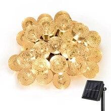 Kmashi 20ft 30 Cristal LED Bola Solar Powered Césped Árbol Más Populares Globe Luces de Hadas para Jardín Al Aire Libre Decoración De La Navidad