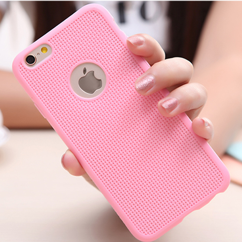 247cb19a5c4788 Happy Colors Luxury Grid Radiating air hole Soft TPU phone case For Iphone  5 5s Cover Back case with logo window dissipate heat on Aliexpress.com |  Alibaba ...