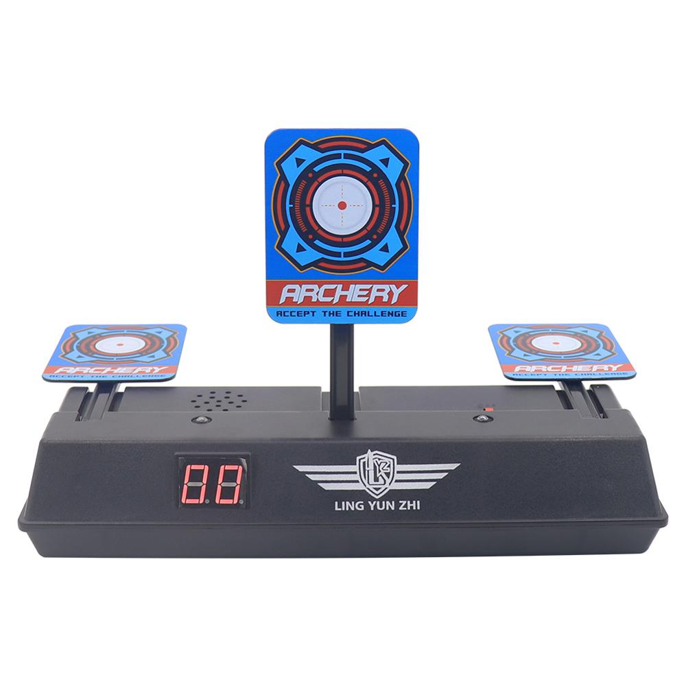 Image 3 - Scoring Auto Reset Demountable Electric Shooting Target for Nerf Blaster Gel Beads Blaster Paintball Accessories-in Paintball Accessories from Sports & Entertainment