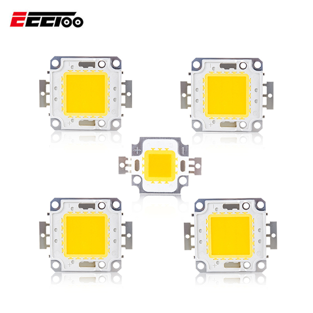 High Power 3W 10W 20W 30W 50W 100W LED Light Matrix COB Integrated LED Lamp Chip DC 12V 36V For DIY Flood Light Spotlight Bulb