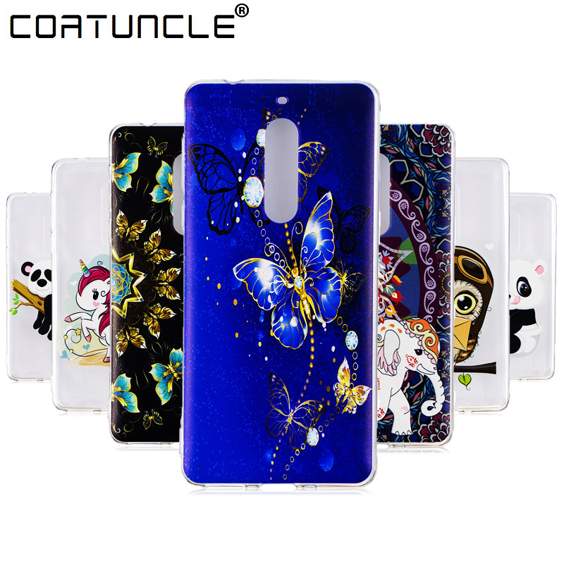 COATUNCLE Soft TPU <font><b>case</b></font> sFor Fundas <font><b>Nokia</b></font> 2 <font><b>case</b></font> For Coque <font><b>Nokia</b></font> 3 <font><b>5</b></font> <font><b>phone</b></font> cover For <font><b>Nokia</b></font> 2 panda Transparent Silicone <font><b>cases</b></font>