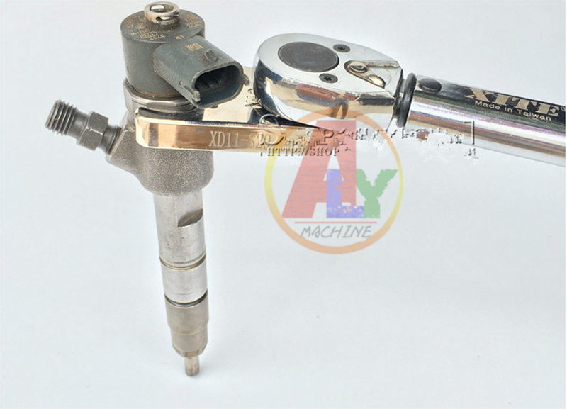 Common Rail Injector Electromagnetic Valve Dismounting Wrench Tool , Remove Solenoid Valve Tool, Common Rail Valve Tool