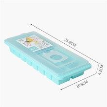 Tenske лоток для льда, хит, 16 полости, коробка для льда с крышкой, для напитков, желе, Морозилка, форма для льда* 30, подарок, капля F804