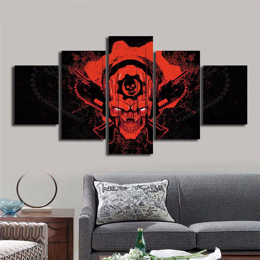 Hot Sale Devil Canvas Printing HD Demon Printed Wall Home