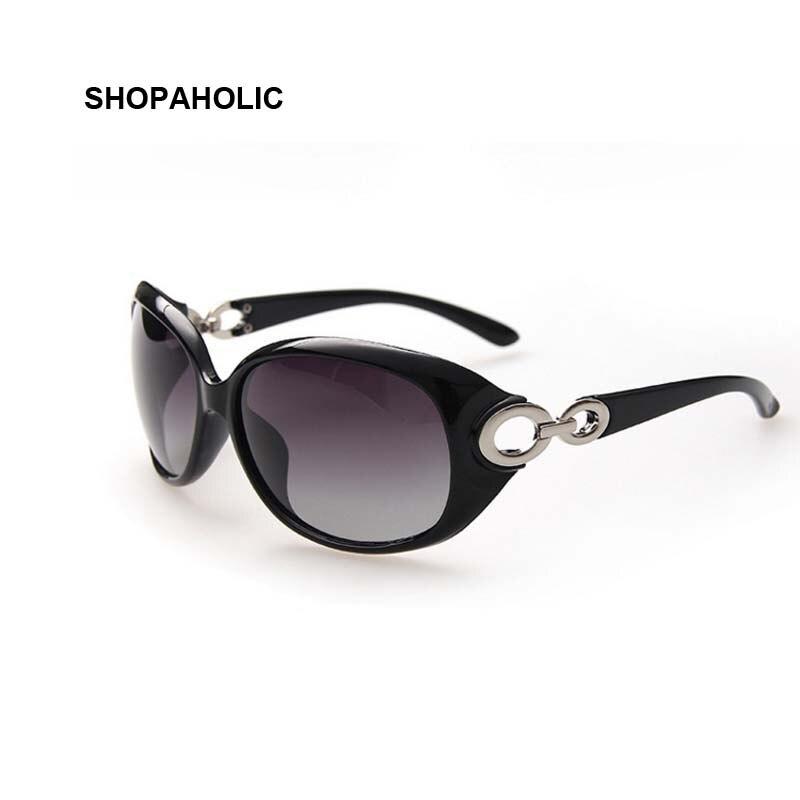 Gafas de sol polarizadas de moda para mujer, lentes de diseñador de marca, lentes de sol para dama, gafas de sol clásicas de conducción para mujer