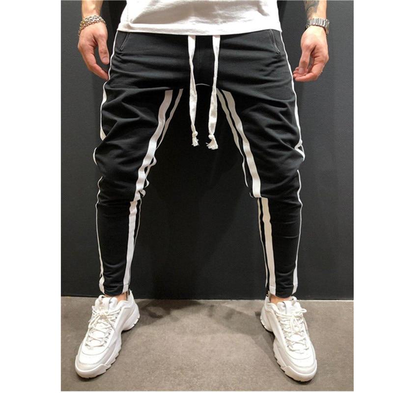 Новинка, европейские и американские мужские спортивные штаны для отдыха, фитнеса, на молнии, для бега, фитнеса, модные штаны