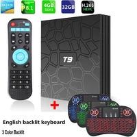 T9 Smart TV Box Android 8.1 SUNVELL T9 4GB 32GB 64GB Rockchip RK3328 1080P H.265 4K PK H96 MAX Set top box