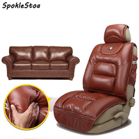 pu leather winter car seat cushion full thick seats cushions for bmw x5 keep warm seat covers leather car seat cover for benz s