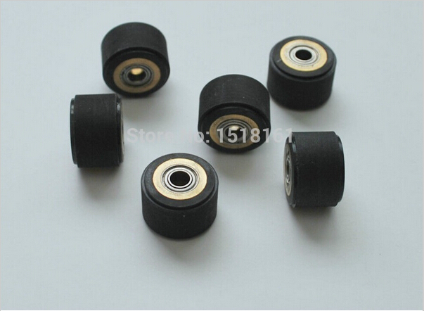 Brand New Free Shipping 10pcs 4mm Pinch Roller For Roland Vinyl Cutting Plotter Cutter (4mm X 10mm X 14mm)