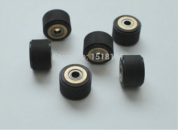Brand New Free Shipping 10pcs 4mm Pinch Roller For Roland Vinyl Cutting Plotter Cutter (4mm X 10mm X 14mm)