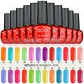 (choose color 58-76) Hot sioux 2017 New 6ml Soak off Nail Art UV Gel Polish 108 COLORS Lacquer Long Lasting Glue