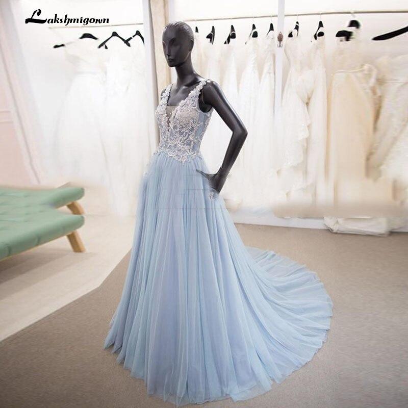 Light Colored Prom Dresses 2018
