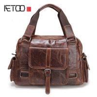 AETOO The New Casual Trend Of Leather Men S First Layer Of Leather Men S Business