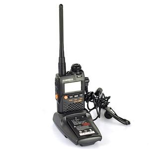 Image 2 - 2 PCS Baofeng UV 3R Mini Walkie Talkie CB Ham VHF UHF Radio Station Transceiver Boafeng Dual Doppel Band Amador Woki toki PTT
