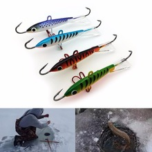 1 Pcs Spoon Metal Lures Ice Fishing Lures Brand Hard Bait Fresh Water Fishing Tackle 18g 83mm Drop shipping