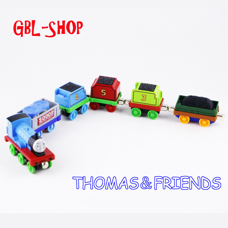 A Series Of Children S Toys Wooden Thomas Train Car Wooden