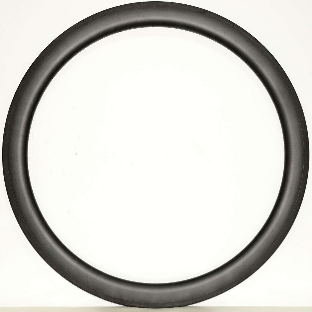 Asymmetrical 700C 50mm depth Urltra-Light Carbon wheels 25mm width Clincher Road Bike single Rim UD matte finish raf simons x adidas низкие кеды и кроссовки