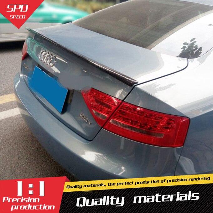 Aliexpress.com : Buy For Audi A5 Spoiler High Quality ABS