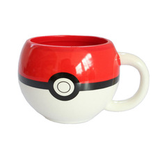 Pokemon Go Poke Ball Pikachu Coffee Mug Cartoon Anime Game Mugs Handgrip Ceramic for Children Christmas Best Gifts