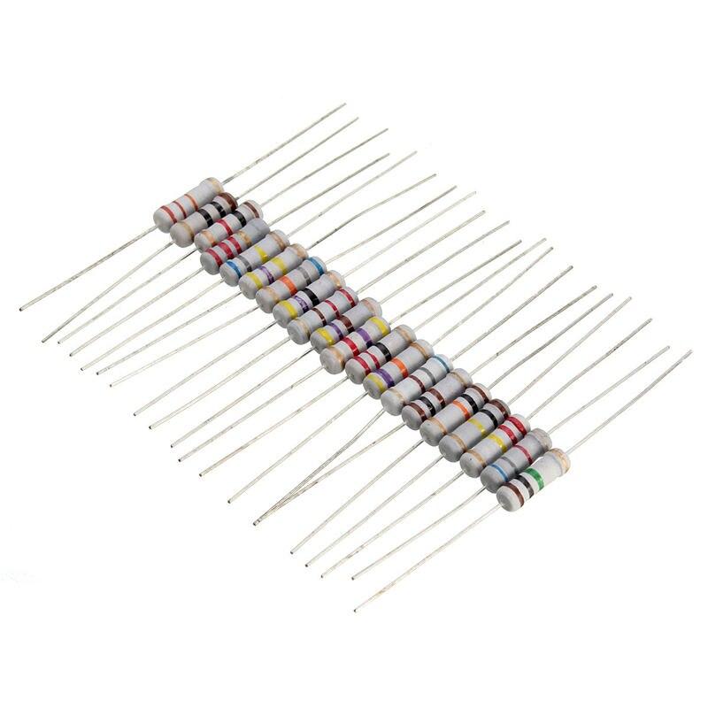 Pack of 30 Carbon Film Resistor 470R 0.5W 5/%