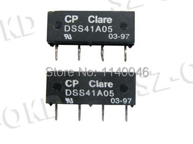 Hot reed relay normally open DSS41A05 four pin Reedin Relays from