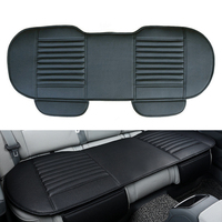Car Back Row Seat Cover car seat Mat Auto Chair Cushion car Breathable PU Leather Pad Car seat cushion