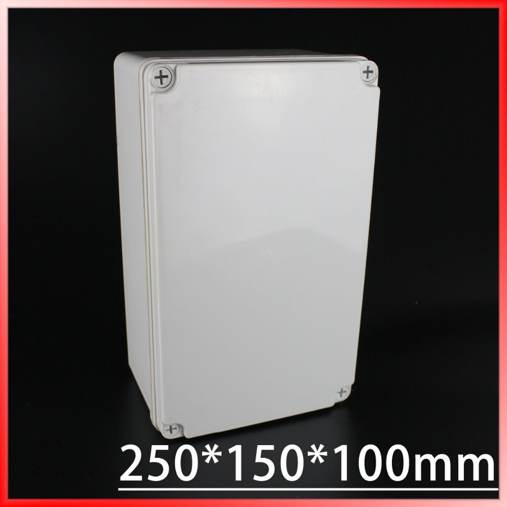 250*150*100MM IP67 Waterproof Enclosure Box Housing Meter Box 4pcs a lot diy plastic enclosure for electronic handheld led junction box abs housing control box waterproof case 238 134 50mm