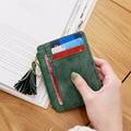 Free shipping 2017 new creative Korea style women wallet Multifunctional Magic PU Leather Ultra-thin business women thin Wallet