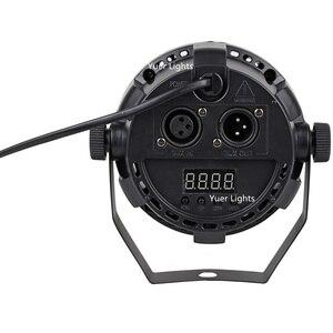 Image 4 - 軽音楽 30 ワット rgbw 4IN1 led cob par ライトステージ洗浄効果光 dmx ディスコライトパー用 led dj 照明レーザープロジェクター