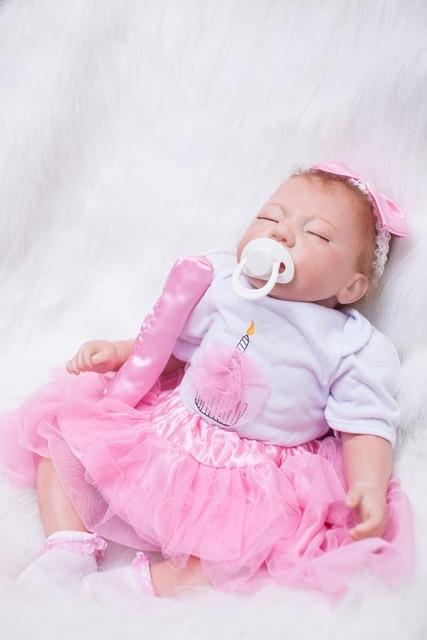 20 Quot Lifelike Newborn Girls Reborn Baby Dolls For Sale Soft