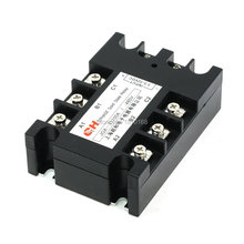 цена на Jgx-33100 3.5 - 32VDC masukan 480VAC 100A keluaran DC / AC tiga fase SSR Solid State Relay