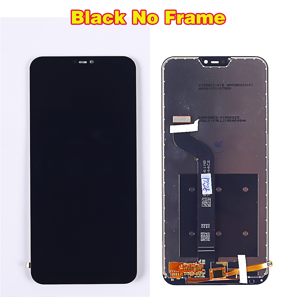 HTB1wU0WaIvrK1Rjy0Feq6ATmVXaP Deal Team 5.84 inch LCD display For Xiaomi Mi A2 Lite touch screen digitizer assembly For Xiaomi Redmi 6 Pro Frame 10 Multitouch