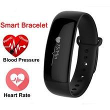 Nova Pulseira Inteligente M88 Pulseira Heart rate monitor de Pressão Arterial Inteligente Relógios rastreador de fitness banda de Relógio Inteligente para IOSAndroid