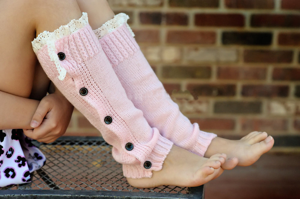 Teen babes legwarmers