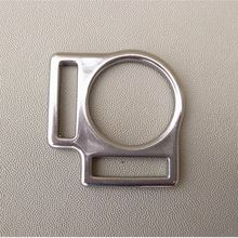Stainless Steel Halter Buckle For Leather 10 Pieces Per Pack