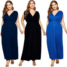 New spring and autumn hot sale fashion Mosaic large size leisure sexy elegant fat MM straight women dress