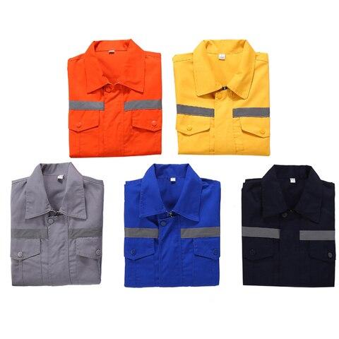 uniformes de trabalho manga longa jaqueta trabalho azul marinho
