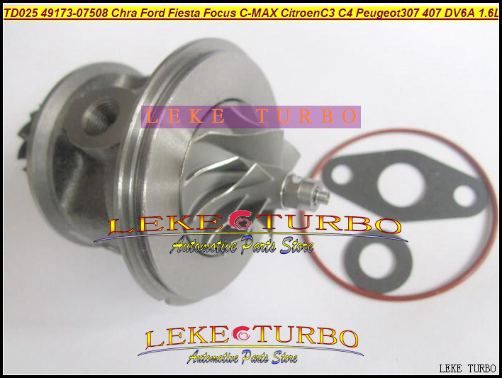 Turbo Cartridge Chra TD02 49173-07507 49173-07508 49173-07502 965753058 For Citroen Berlingo C3 C4 Jumpy Xsara 1.6L HDi 05- 90HP auto turbos kit td02 turbo chra 49173 07507 49173 07502 9657530580 9657603780 turbine core for ford fiesta vi 1 6 tdci 2005