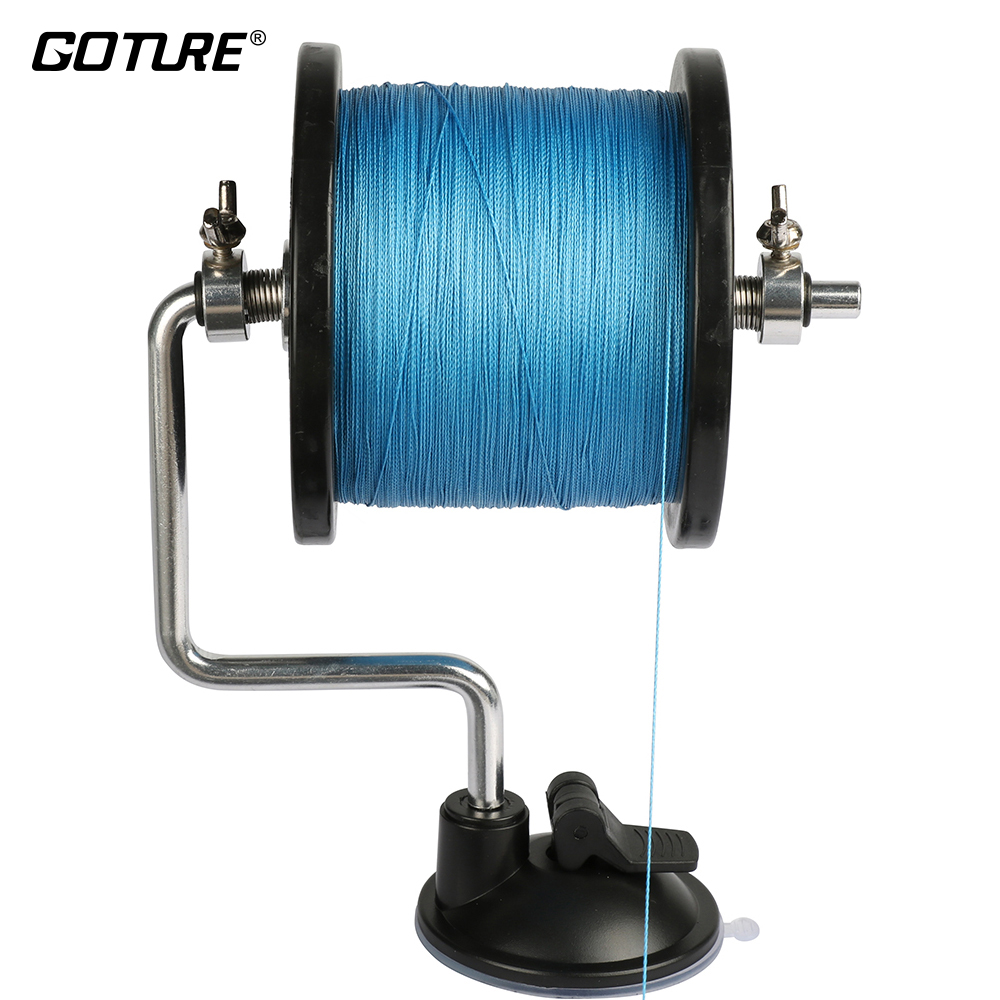 Goture Fishing Line Reel Spool Spooler System Tackle