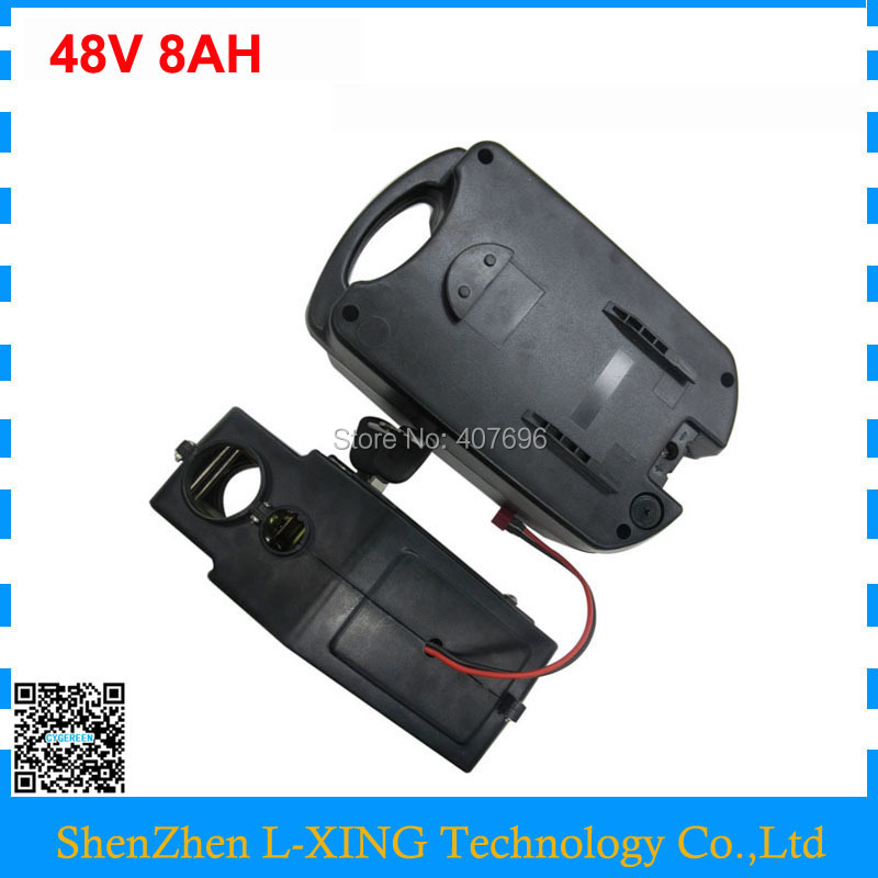 Free customs duty 500W 48 V Electric Bicycle battery 48V 8AH Lithium ion batteries use 3.7V 2000mah cell with 2A Charger Free customs duty 500W 48 V Electric Bicycle battery 48V 8AH Lithium ion batteries use 3.7V 2000mah cell with 2A Charger