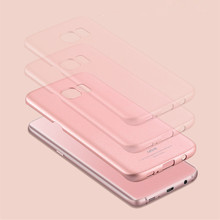 Luxury S7 Edge Msvii Thin Hard PC Case For Samsung Galaxy S7 /S7 Edge / Note 7 Back Cover Solid Color Protective Shell Skin