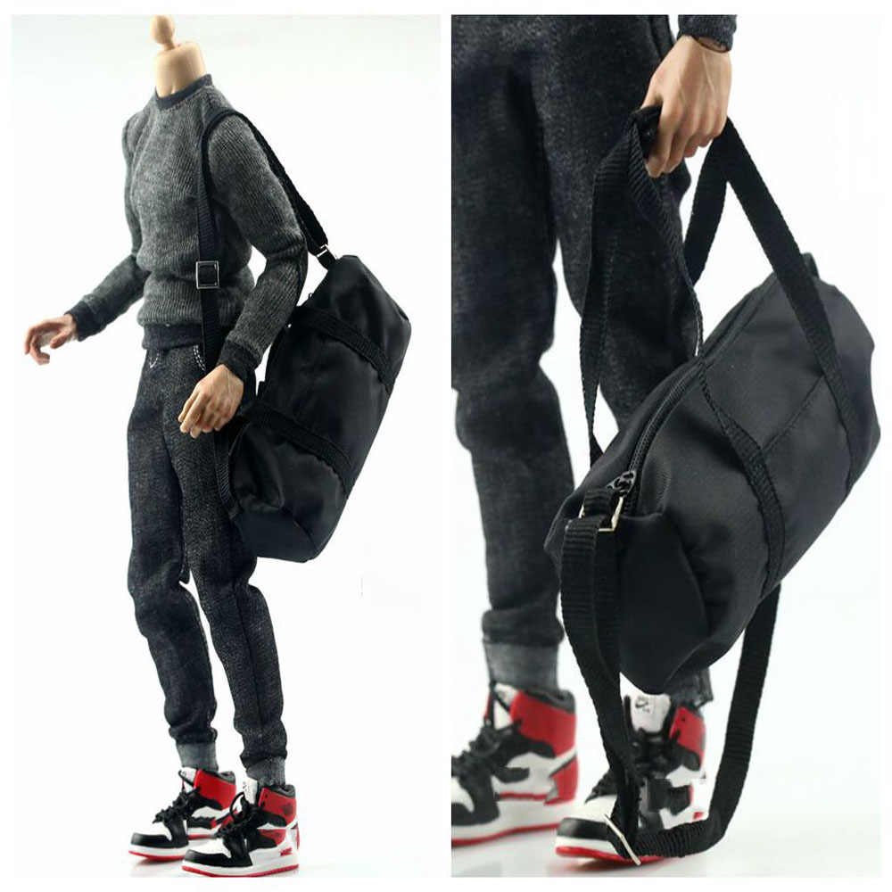 2f54a8e0d9 ... In Stock 1 6 Scale Soldier Sports Backpack DIY Robber Large Bag for  12